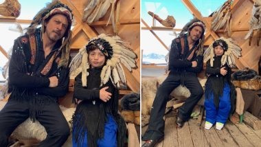 Shah Rukh Khan and AbRam's Latest Instagram Picture is Getting Slammed By Netizens For Cultural Appropriation - View Pic!