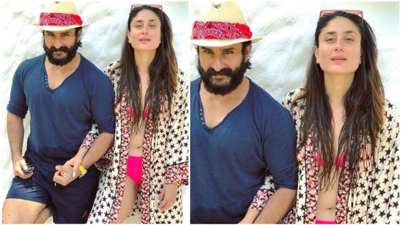 Kareena Kapoor Khan Has The Sassiest Reply To a Troll Who Called Out Saif Ali Khan For 'Allowing' Wife to Wear a Bikini!