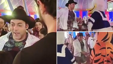 Salman Khan Aces the Floss Dance at Nephew Ahil Sharma's Third Birthday Bash - Watch Video