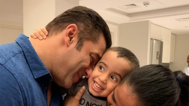 Salman Khan's Cute Picture With Baby Ahil Sharma Makes Fans Pine For His Own Marriage AGAIN!