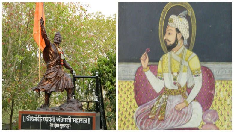 Chhatrapati Sambhaji Maharaj Balidan Divas: 10 Facts About the Brave Maratha Hero That Makes Him Legendary