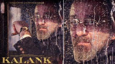 Kalank Poster: Sanjay Dutt's Calm Demeanour As Balraj Chaudhry Speak Volumes – See Pic