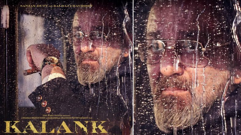 Kalank Poster: Sanjay Dutt's Calm Demeanour As Balraj Chaudhry Speak Volumes – See Pic