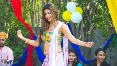Sapna Choudhary's Holi 2019 Song 'Matki Fudwayegi' Is Perfect Dance Number for Holi Parties (Watch Video)