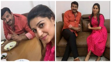 Sapna Choudhary Meets Manoj Tiwari; Is She Joining BJP and Not Congress Ahead of Lok Sabha Elections 2019? See Pics