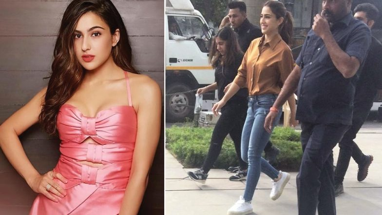 Stylish Sara Ali Khan's Casual Chic Look From Love Aaj Kal 2 Sets Leaks Online – See Pic