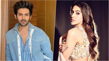 Sara Ali Khan and Kartik Aaryan Are Made For Each Other, Declare Fans After Seeing Them in Imtiaz Ali's Next Film's Poster!