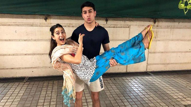 Kartik Aaryan caught kissing Sara Ali Khan for Love Aaj Kal 2