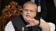 'Internet to be Restored Soon', Says Jammu & Kashmir Governor Satya Pal Malik After Restoration of Mobile Phone Network