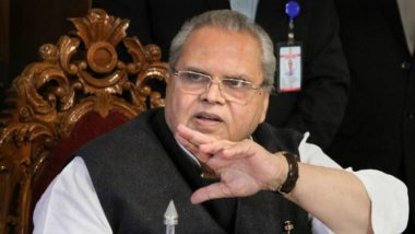 'Militants Should Kill Corrupt People Instead of Innocents', Says Jammu And Kashmir Governor Satya Pal Malik; Statement Stirs Row