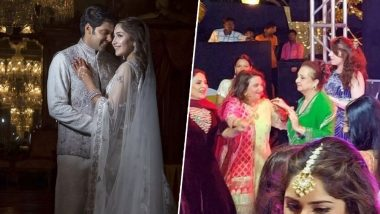Sayyeshaa Saigal-Arya Marriage: When Saira Banu Grooved at Her Grand-Niece's Pre-Wedding Bash (See Pics)