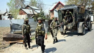 Jammu And Kashmir: Two Jaish-e-Mohammed Terrorists Gunned Down in Sopore Encounter, Gunfight Underway in Shopian