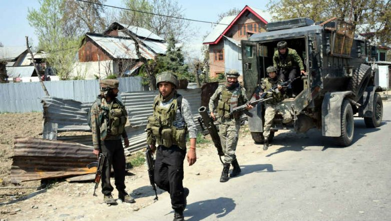 Jammu And Kashmir: Two Jaish-e-Mohammed Terrorists Gunned Down in Sopore Encounter, One Killed in Shopian