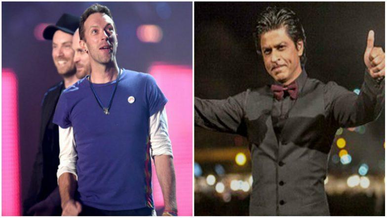 Coldplay Frontman Chris Martin Sends Love to Shah Rukh Khan