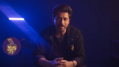 VIVO IPL 2019: SRK Unveils 'KKR Hai Taiyaar' Song Video With a Message for Fans 'You Pray for Us, We Play for You'