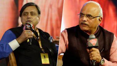 Shashi Tharoor, Vinay Sahasrabuddhe Clash at India Today Conclave 2019 on 'Who is a Better Hindu' and Sabarimala Row
