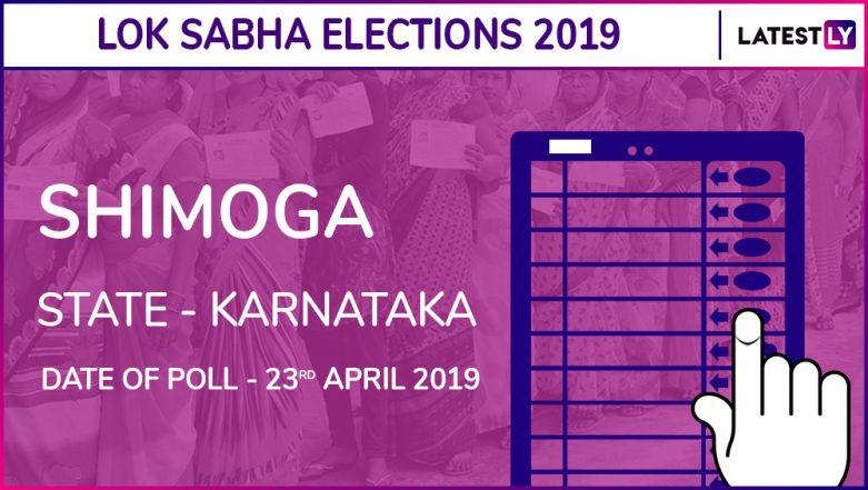 Shimoga Lok Sabha Constituency in Karnataka Results 2019: BJP Candidate BY Raghavendra Elected MP