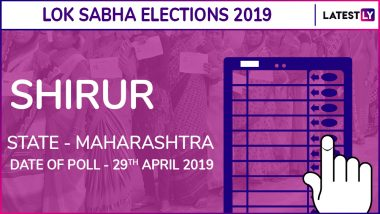 Shirur Lok Sabha Constituency in Maharashtra Results 2019: NCP Candidate Dr Amol Kolhe Elected as MP