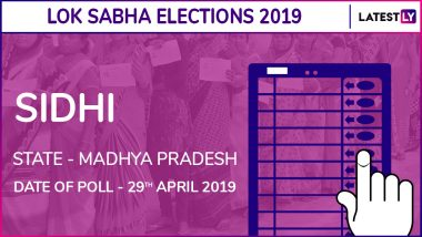 Sidhi Lok Sabha Constituency in Madhya Pradesh: Candidates, Current MP, Voting Date And Election Results 2019