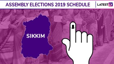 Sikkim Assembly Elections 2019 Dates: Complete Schedule of Voting And Results For State Elections