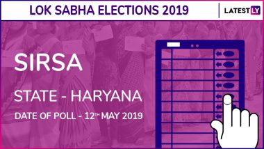 Sirsa Lok Sabha Constituency in Haryana: Candidates, Current MP, Polling Date And Election Results 2019