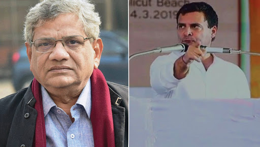 Mahagathbandhan Woes: Rahul Gandhi Wants Tactical Alliance With CPM in West Bengal, But Lambastes Communist Ideology in Kerala