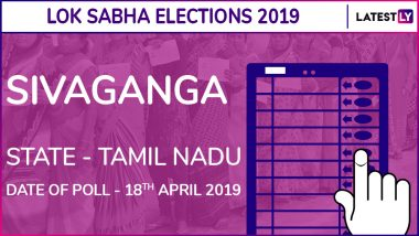Sivaganga Lok Sabha Constituency Election Results 2019 in Tamil Nadu: Karti P Chidambaram of Congress Wins This Parliamentary Seat