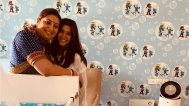 Smriti Irani Gets a Super-Special Birthday Wish From Her BFF Ekta Kapoor! (View Pic)