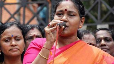 Sobha Surendran, General Secretary of BJP's Kerala Unit, Declared 'Most Wanted' by Court