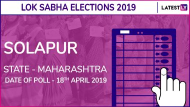 Solapur Lok Sabha Constituency in Maharashtra Results 2019: BJP Candidate Jai Siddeshwar Swamy Elected as MP