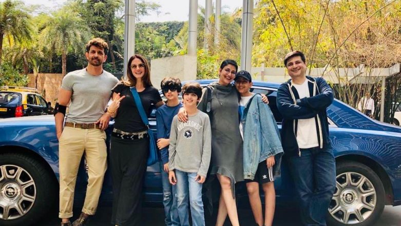 Sonali Bendre Spends A Perfect Sunday With Hrithik Roshan, Sussanne Khan & Family, Calls It Her 'New Normal Life'  - View Pic!