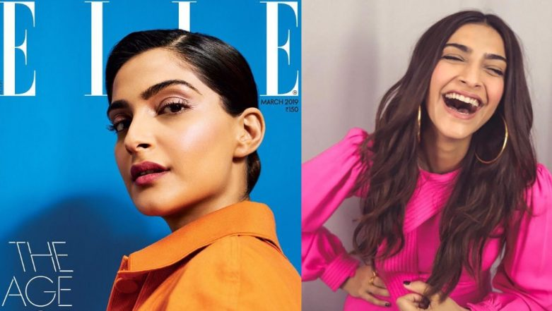 The Chic Sonam Kapoor Gives A Powerful Fashion Statement On The Cover Of Elle Magazine - View Pic