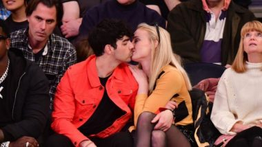 Sophie Turner And Joe Jonas Make Out At A Knicks Game And Remind Us Of Pete Davidson - Kate Beckinsale's Recent PDA Sesh! View Pic