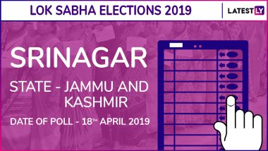Srinagar Lok Sabha Constituency Result 2019 in Jammu and Kashmir: Farooq Abdullah of NC Wins Parliamentary Election