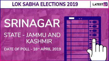 Srinagar Lok Sabha Constituency Result 2019 in Jammu and Kashmir: Farooq Abdullah of NC Wins Parliamentary Election