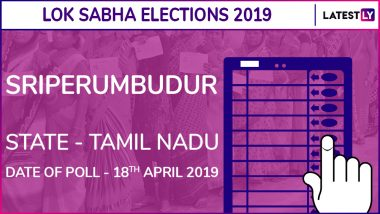 Sriperumbudur Lok Sabha Constituency Election Results 2019 in Tamil Nadu: TR Baalu of DMK Wins This Parliamentary Seat