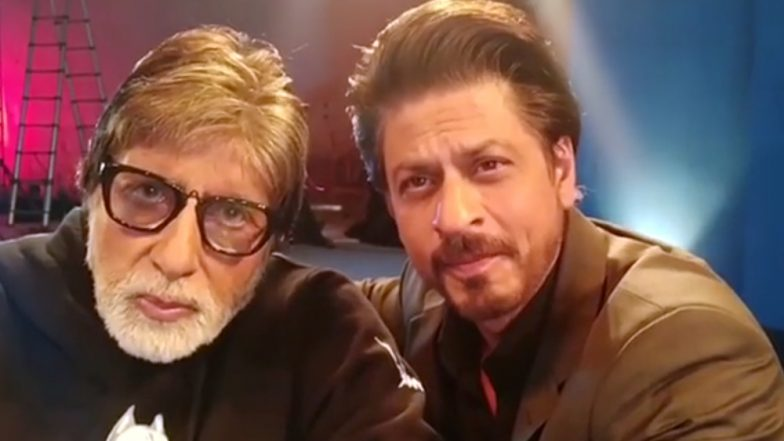 This Video of Shah Rukh Khan and Amitabh Bachchan Singing 'Ek Dusre Se Karte Hai Pyaar Hum' Is a Sheer Delight for Fans