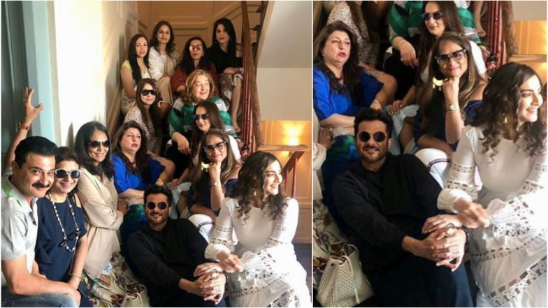 Brothers Anil and Sanjay Kapoor Gatecrash Sunita Kapoor's Birthday Bash and Their Picture With The All Ladies Gang is Simply Amazing!