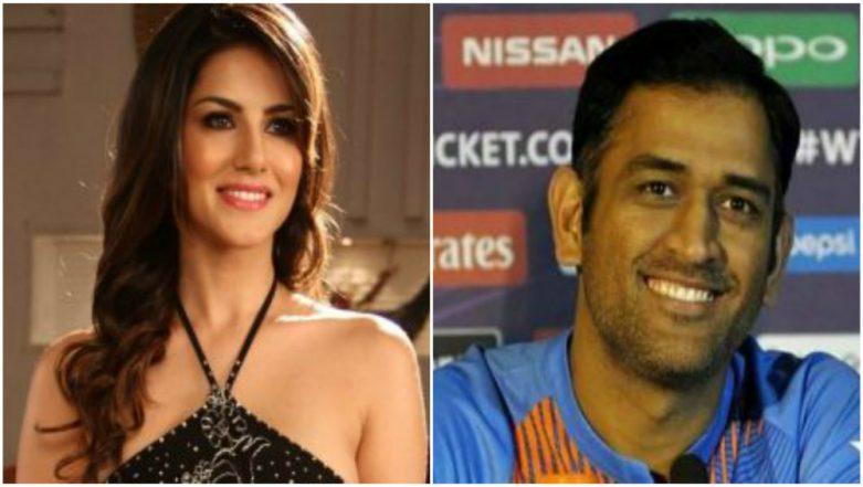 Not Virat Kohli, MS Dhoni is Sunny Leone's Favourite Cricketer!