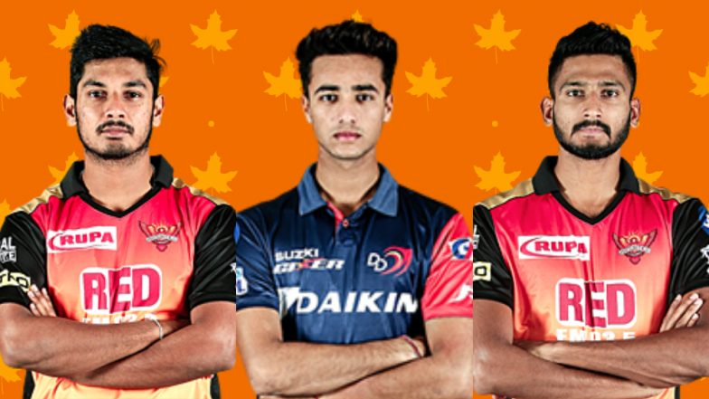 Team SRH New Players: Here's a Look at Upcoming Talent in Sunrisers Hyderabad Squad for IPL 2019