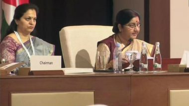 Sushma Swaraj at OIC Meet 2019: EAM Makes Veiled Attack On Pakistan For Funding Terrorism, Says 'Terror Not Linked To One Religion'