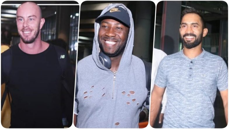 Dinesh Karthik, Andre Russell and Chris Lynn Join Team KKR Ahead of IPL 2019 (See Pics)