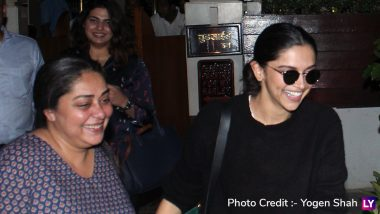 Deepika Padukone and Meghna Gulzar Hang Out Together Before They Start Shooting for Chhapaak - See Pics