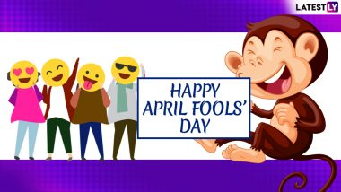 April Fools' Day 2019 Messages & Images: Prank Quotes, Funny WhatsApp Stickers, GIFs, Photos, SMS, Greetings to Wish Happy April Fool's Day to Your Friends on 1st April