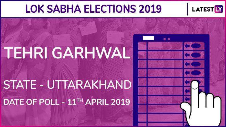 Tehri Garhwal Lok Sabha Constituency Election Results 2019 in Uttarakhand: Mala Rajyalaxmi Shah of BJP Wins The Parliamentary Seat