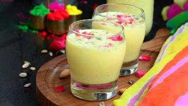 Mahashivratri 2020: This Flavourful Bhang Thandai Will Take You on a Refreshing Trip to Paradise!
