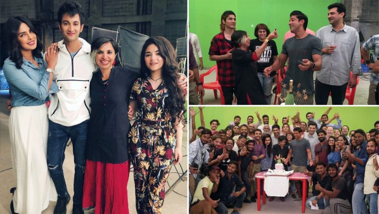 It's a Wrap for The Sky Is Pink Starring Priyanka Chopra Jonas, Farhan Akhtar and Zaira Wasim (See Pics)