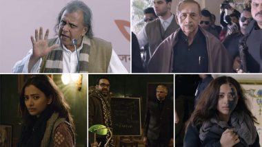 The Tashkent Files Box Office Collection: Naseeruddin Shah and Mithun Chakraborty Starrer Does Well Despite Stiff Competition From Avengers Endgame, Earns Rs  9.72 Crore