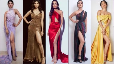 Rock Sexy Thigh-High Slit Like Hina Khan, Malaika Arora, Jennifer Winget, Kiara Advani & Malavika Mohanan (View Pics)
