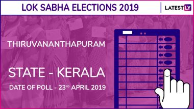 Thiruvananthapuram Lok Sabha Constituency in Kerala Results 2019: Congress Candidate Shashi Tharoor Elected MP